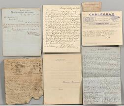 Assortment of Documents, Civil War and Others.