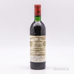 Chateau Cheval Blanc 1970, 1 bottle