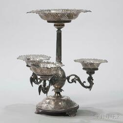 Mappin & Webb Silver-plate Epergne
