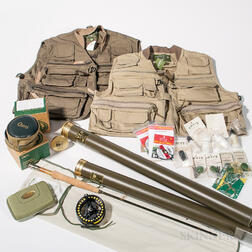 Group of Orvis Fly-fishing Gear