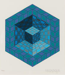 Victor Vasarely (Hungarian/French, 1906-1997)      Sancton