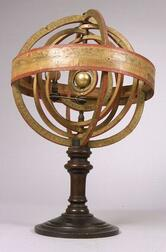 French 11-inch Copernican Armillary Sphere
