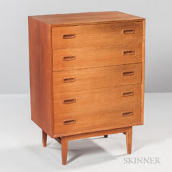 Danish Modern Teak Chest of Drawers