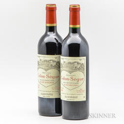 Chateau Calon Segur 1995, 2 bottles