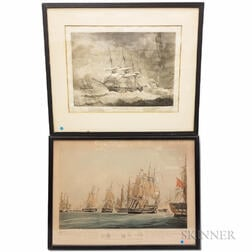 Two Framed Nautical Prints