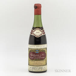 Vercherre & Co Vosne Romanee Les Suchots 1959, 1 bottle