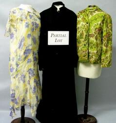 Lot of Assorted Late Victorian and Early and Mid-20th Century   Clothing and Accessories