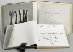 Photography Books Signed by Artists to Marie Cosindas (1923-2017), Three Titles.