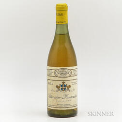 Leflaive Chevalier Montrachet 1973, 1 bottle