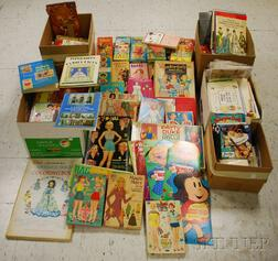 Very Large Lot of Paper Dolls