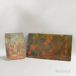 Two European Orthodox Painted Wood Icons