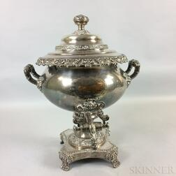Silver-plated Hot Water Urn