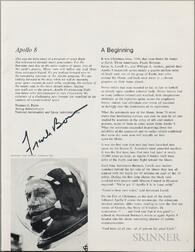 Apollo 8 Ephemera.