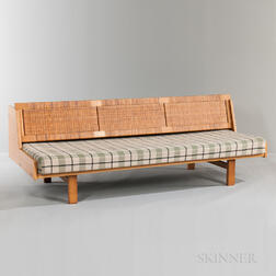 Hans Wegner for Getama Oak Caned-back Daybed