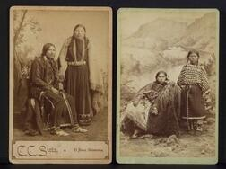 Two Cabinet Card Photographs