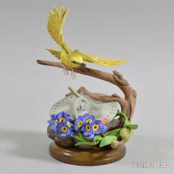 "Boehm ""Yellow Warbler"" Porcelain Figure"