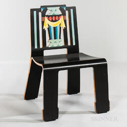 "Robert Venturi for Knoll ""Sheraton"" Molded Plywood Chair"