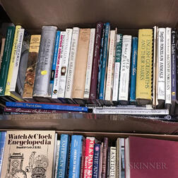 Three Boxes of Books on American Antiques and Decorative Arts