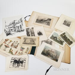 Group of 19th and 20th Century Engravings and Prints