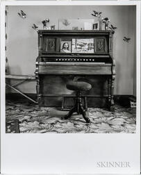 Walker Evans (American, 1903-1975)       The Home Organ, Chester, Nova Scotia