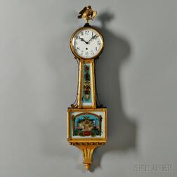 "Waterbury Willard No. 3 ""Banjo"" Clock"