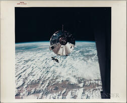 "Apollo 9, Command Service Module ""Gumdrop,"" Two Photographs."