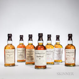 Mixed Balvenie, 8 750ml bottles