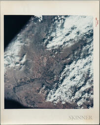 Apollo 9, Earth-Sky View, Phoenix, Arizona, March 17, 1969.