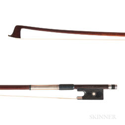 English Silver-mounted Violin Bow