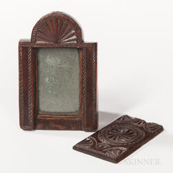 Friesian Carved Pocket Mirror