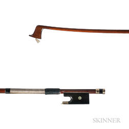 Gold-mounted Violin Bow, c. 1880