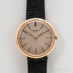 18kt Gold Patek Philippe Calatrava Ultra-thin Wristwatch