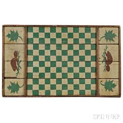Paint-decorated Game Board