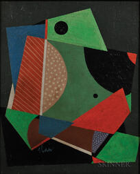 Charles Green Shaw (American, 1892-1974)      Geometric Abstraction
