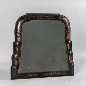 Queen Anne Japanned Mirror