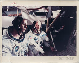 Apollo 10, Cernan and Stafford, Signed Photograph.
