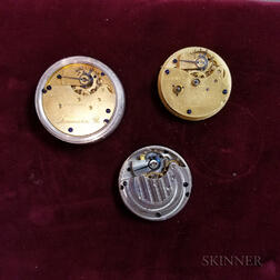 Seven Lancaster Watch Co. Movements and Dials