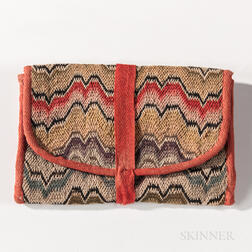 Flame-stitch Wallet