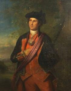 Sold for: $446,000 - Attributed to Rembrandt Peale (1778-1860)  Portrait of George Washington, 1800-1820