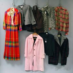 Assorted Group of Bill Blass Lady's Fashions