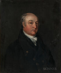 British School, Early 19th Century    Portrait of a Gentleman