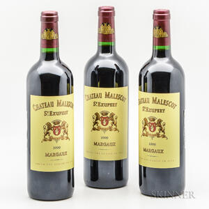 Chateau Malescot St. Exupery 2009, 3 bottles