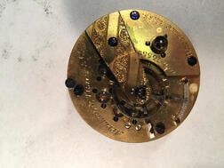 "Appleton Tracy & Co. Movement and Dial and a Hamilton ""992 60-hour"" Watch Movement"