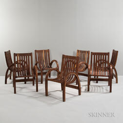 Seven Salvador Vidal Che-Chent Armchairs
