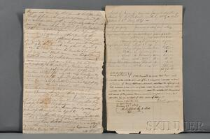 African-American History, Two Documents of the Slave Trade (1824 and 1827)