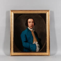 Anglo/American School, Late 18th Century      Portrait of a Young Man