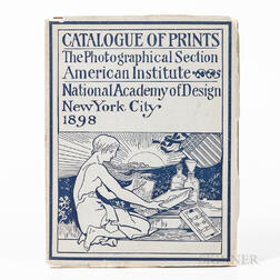 Catalog of Exhibits, The Photographical Section American Institute in Connection with the 67th Annual Fair at the National Academy of D