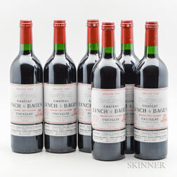 Chateau Lynch Bages 2002, 6 bottles