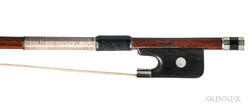 Nickel-mounted Viola Bow, John Norwood Lee
