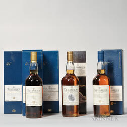 Mixed Talisker, 5 750ml bottles
